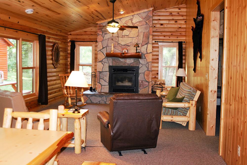 Cabin 11 Livingroom