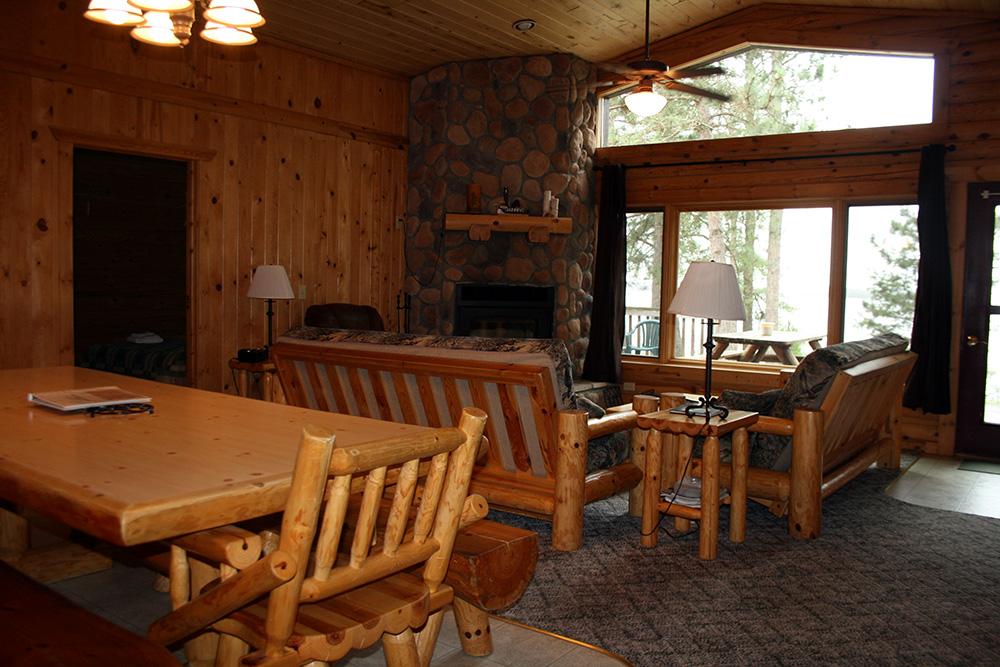 Cabin 7 Livingroom