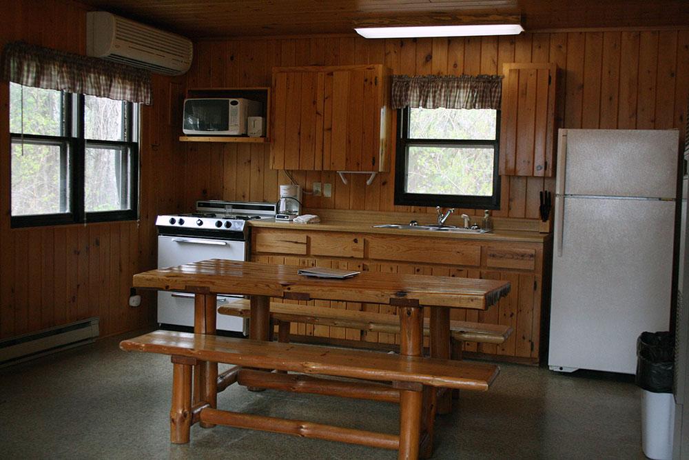 Cabin 14 Kitchen