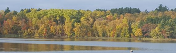Fall colors, fall fishing, hunting, and fall rest and relaxation!