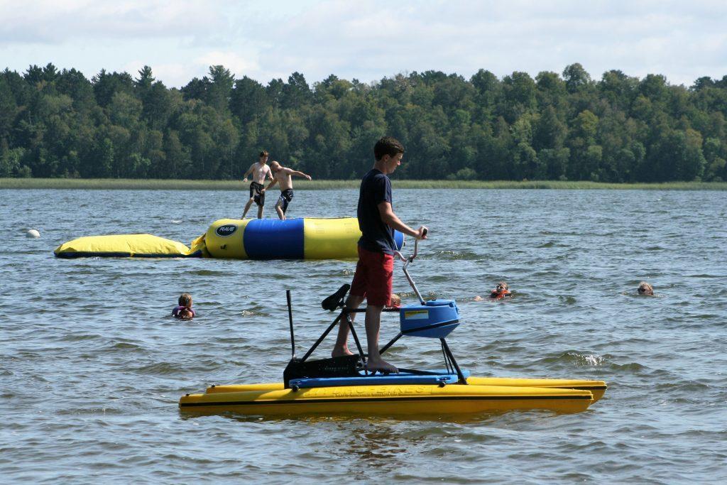 Fun in the lake!