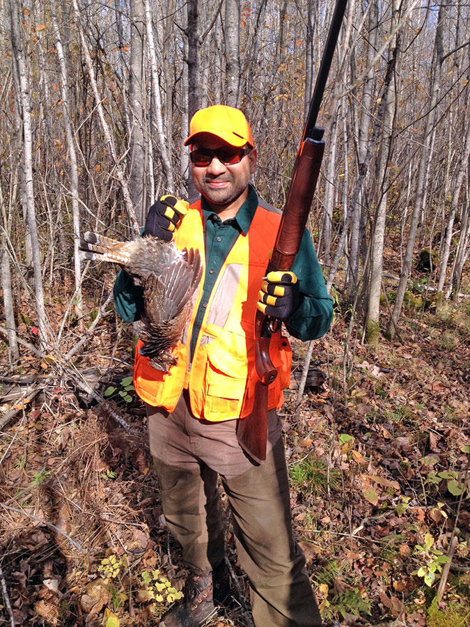 Ruffed Grouse Hunting at Eagle Nest Lodge in northern Minnesota.